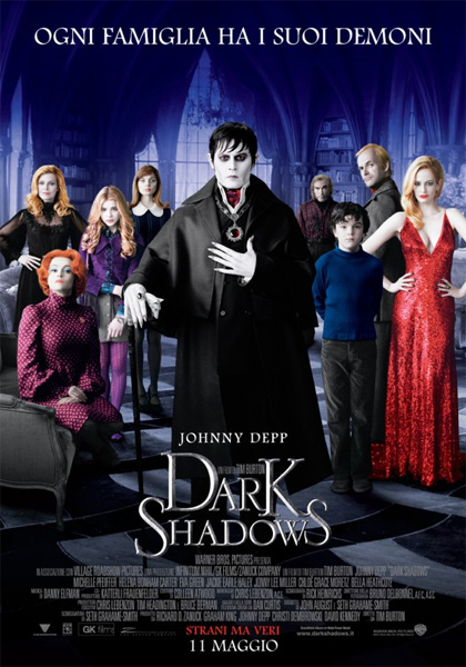 locandina dark shadows