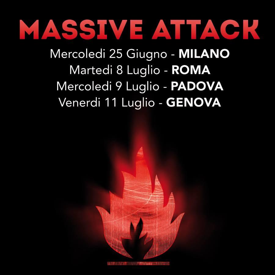 Massive Attack : L'incantesimo si ripete a  Roma