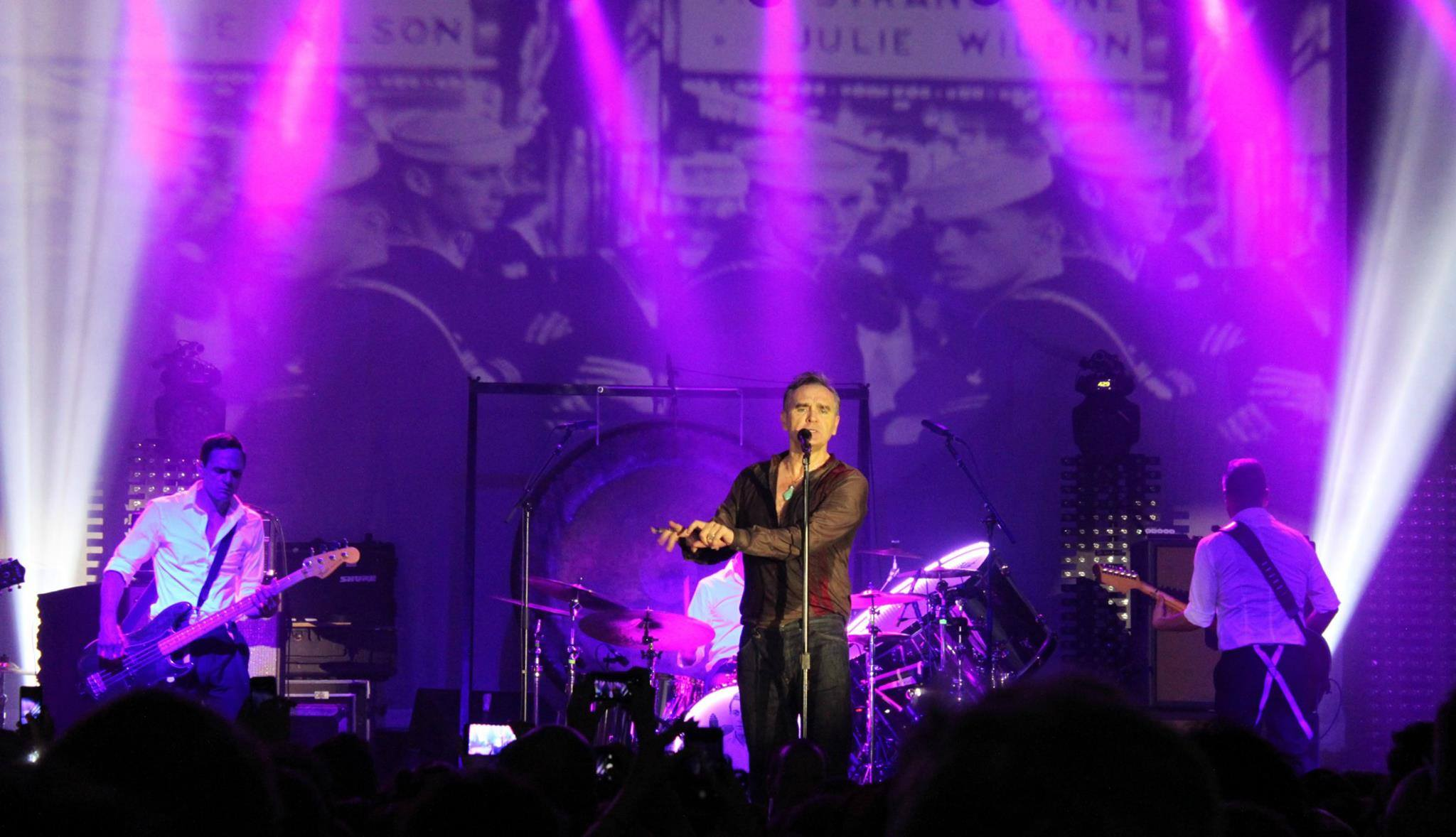 Morrissey a Roma : Everyday is NOT silent and grey