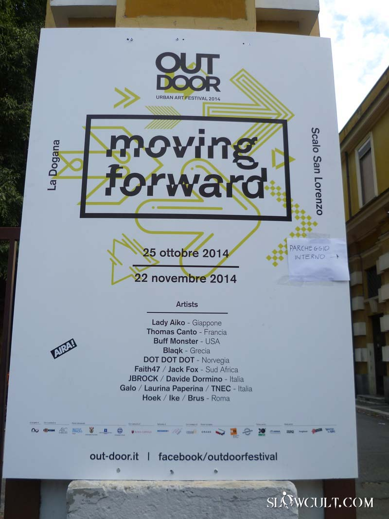 Moving Forward. Urban Art Festival 2014: Galleria Fotografica