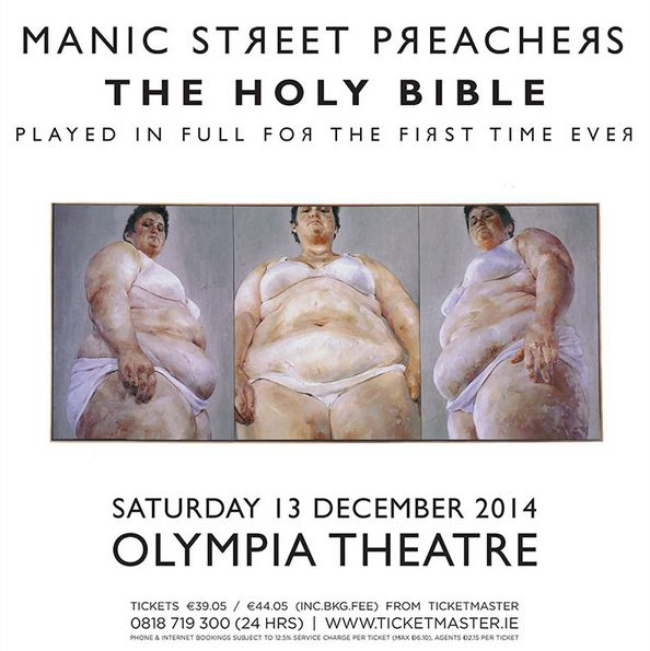 Manic Street Preachers : A Dublin night at the Olympia