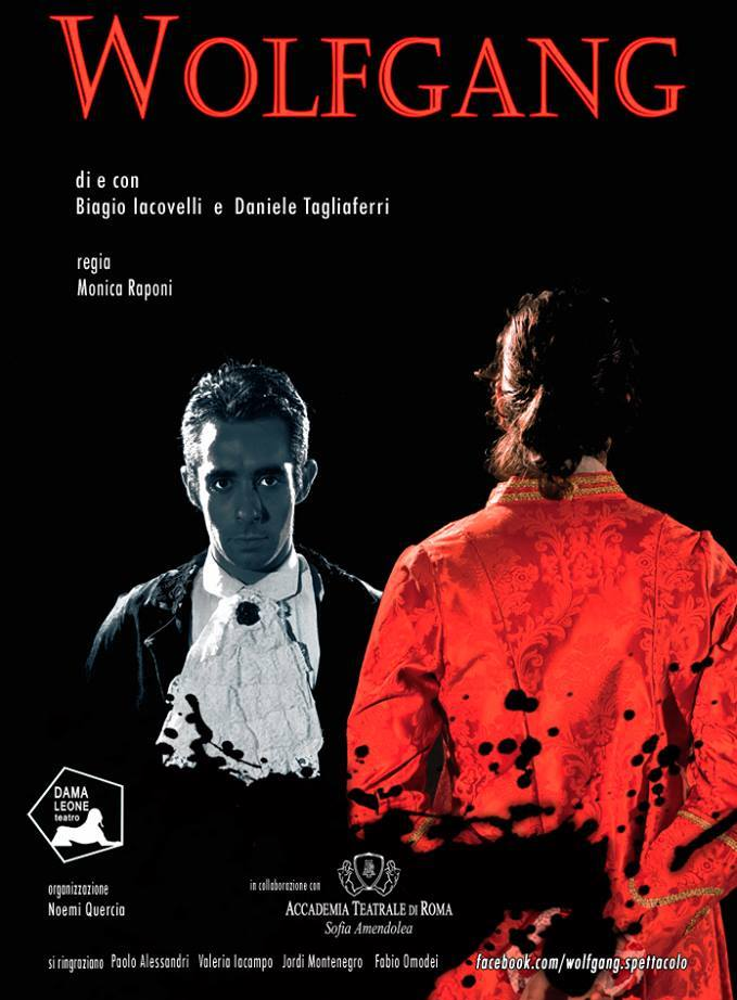 Wolfgang e Salieri: il rosso e il bianco della rivalità