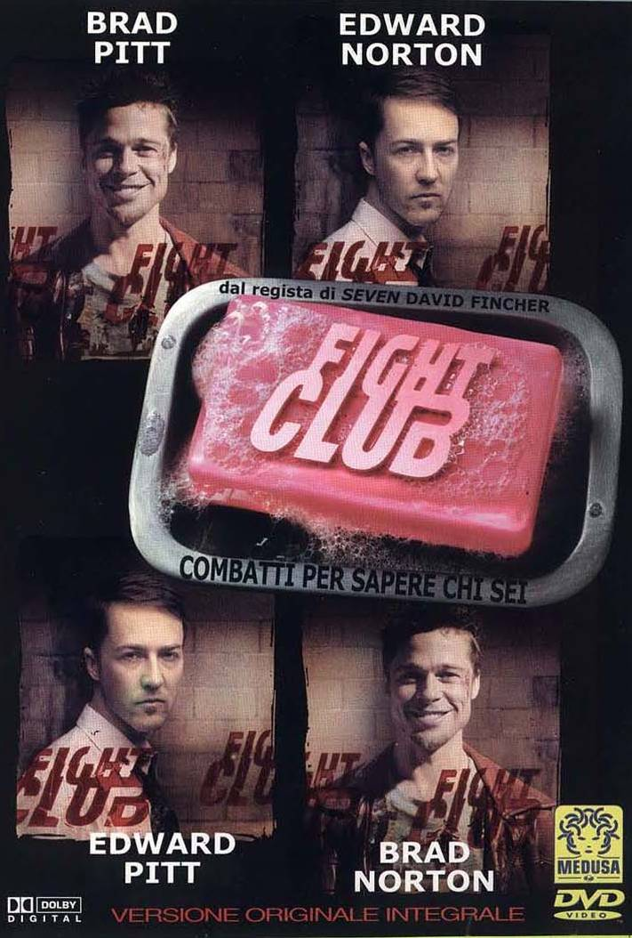 fight club dvd  Rivediamo il dvd di Fight Club, regia di David Fincher »