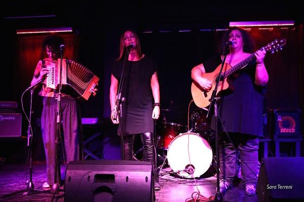 con Susanna Ruffini e Stefania Placidi sul palco del Wishlist - Foto di Sara Terreni