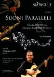 Slowcult presenta: Suoni Paralleli – Nicola Alesini & Giovanni Palombo in concerto.