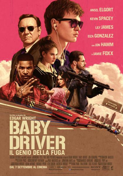 baby driver locandina