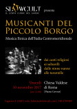 Slowcult presenta: Musicanti del Piccolo Borgo in concerto