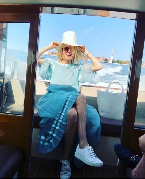 FOTO Naomi a Venezia