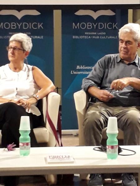Claudia Pinelli e Paolo Brogi